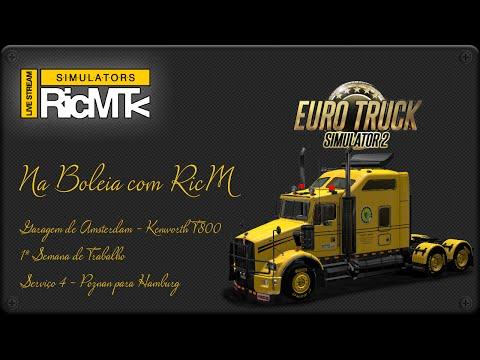 EuroTruck Simulator 2 - RicMtv - Semana1 - Poznan - Hamburg
