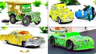 Disney Cars Toys Crash Omnibus Vol.3  Video for Kids