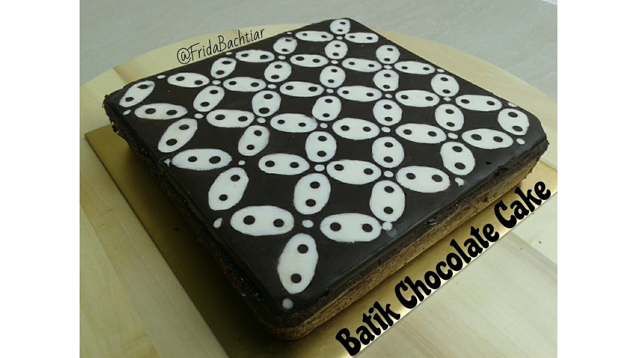 Resep Kue Batik Kawung Batik Chocolate Cake Recipe Chocolate