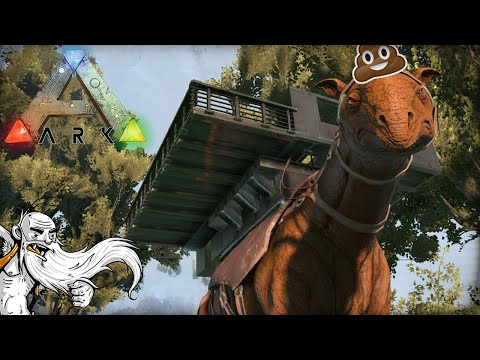 """PARACER MOBILE BASE...AND FOOD TRUCK!!!"" - ARK: Survival Evolved 1080p HD Gameplay"