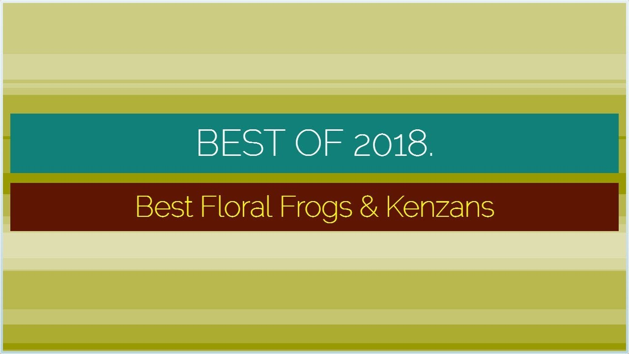 Black Kotobuki Rectangular Kenzan Flower Arranging Frog 3-3//4-Inch