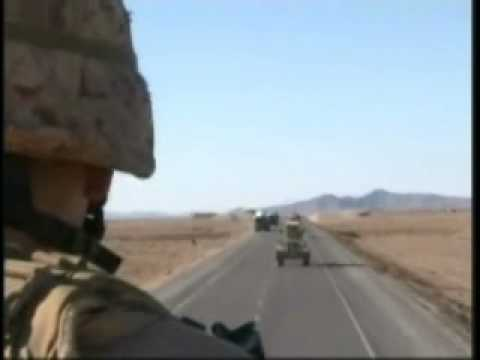 Route Clearance Platoon 8th Marines in Farah Province Afghanistan