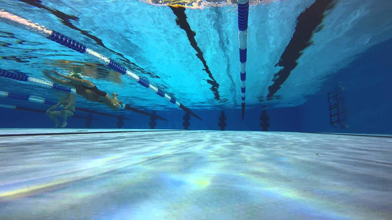 Swimming Front Crawl Gopro Underwater Middle Pool Floor Mount Youtube