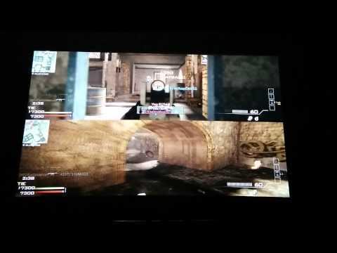 Optoma hd141x projector playing COD mw3 xbox 360