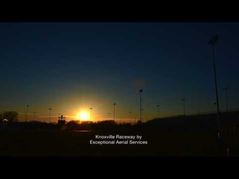 Knoxville Raceway Sunset