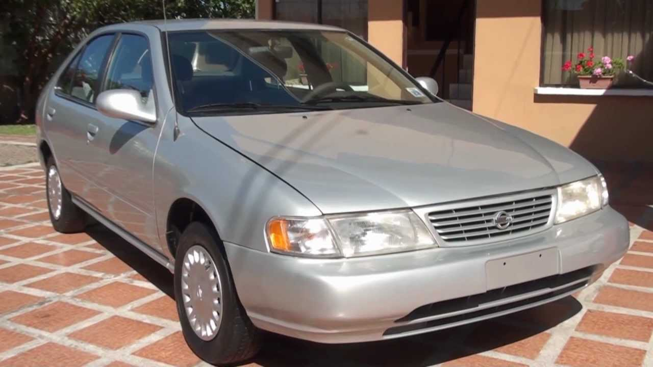 Nissan Sentra B14 1997,Manual, 4Pts, Champagne - YouTube