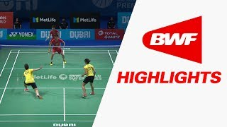 Dubai World Superseries Finals 2017 | Badminton SF 1 – Highlights