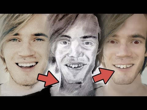 "Thumbnail: ""FIXING"" FANART (Pewdiepie Photoshop)"