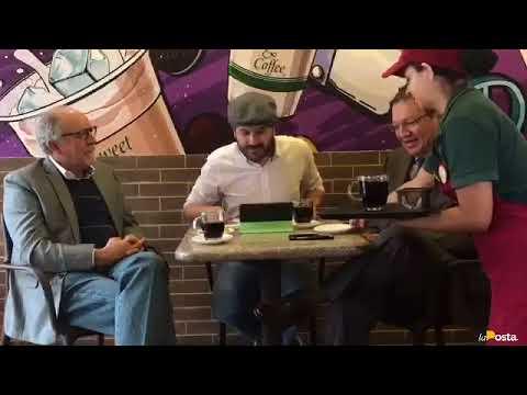 News and Coffe: Santiago Guarderas y Felipe Burbano