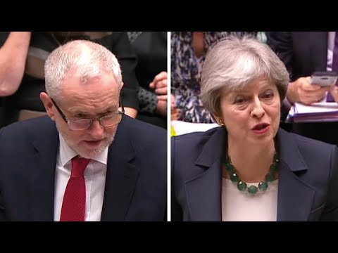 Government on the road to nowhere on Brexit, says Jeremy Corbyn at PMQs