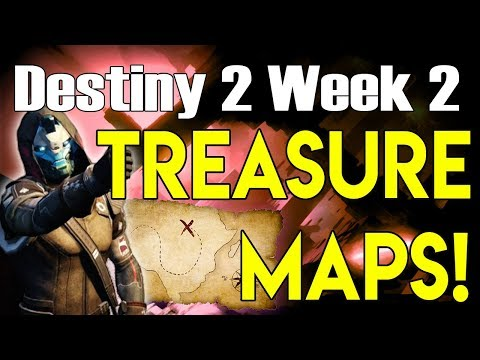 Destiny 2 ALL NESSUS TREASURE MAP LOCATIONS | Cayde's Treasure Chests for Week 2