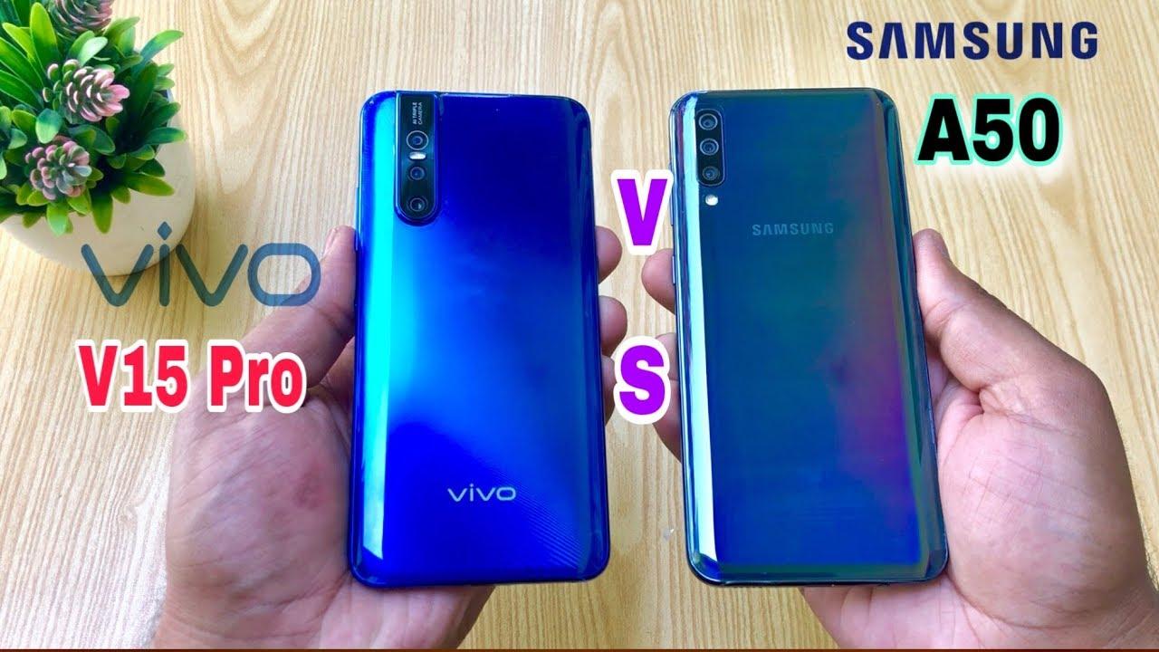 Vivo V15 Pro vs Samsung A50 - Speed Test & Comparison!! - YouTube