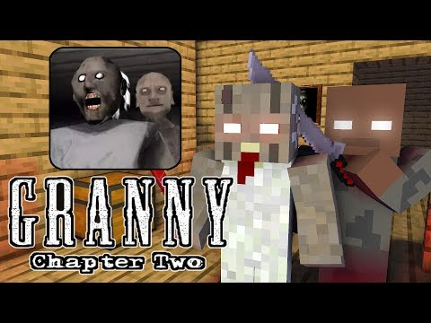 Monster School : GRANNY CHAPTER 2 CHALLENGE - Minecraft Animation