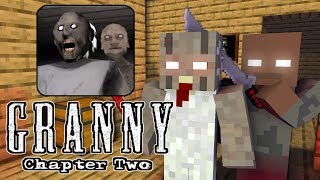 Monster School : GRANNY CHAPTER 2 CHALLENGE - Minecraft Animation