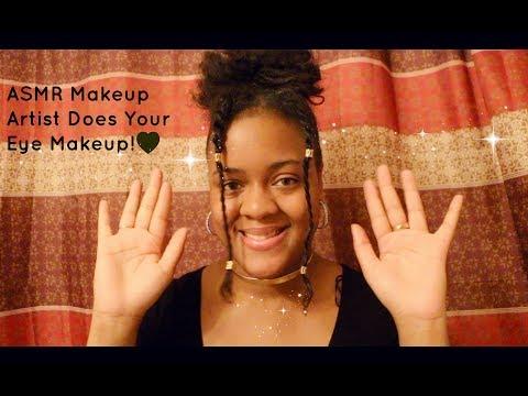 ASMR Makeup Artist Does Your Makeup Roleplay!