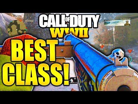 STEN BEST CLASS SETUP COD WW2! CALL OF DUTY WW2