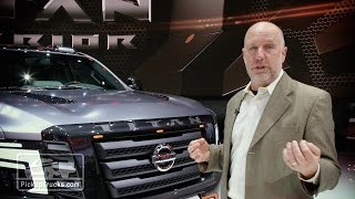 Nissan Titan Warrior Concept 2016 Videos