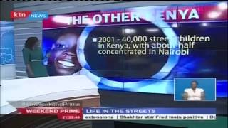 Over 300 000 homeless people live in Kenya as member of street families