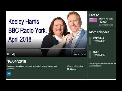 Keeley Harris BBC Radio York.. Festival of Vintage 2018..
