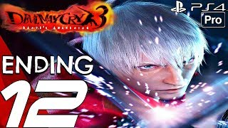 Devil May Cry 3 HD - Gameplay Walkthrough Part 12 - Final Boss & Ending (Remaster) PS4 PRO