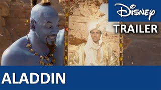 ALADDIN | Trailer på Dansk | Disney Danmark
