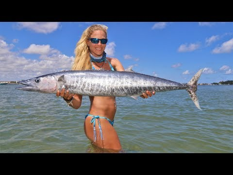 Offshore WAHOO Fishing And Sandbar Party Video