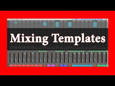 10 Mixing Tips: Mixing templates  | Theo Nt | theont.com