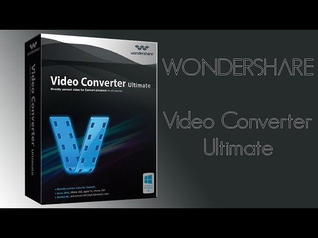 Como Converter MOV pra MP4 com Wondershare Video Converter Ultimate!
