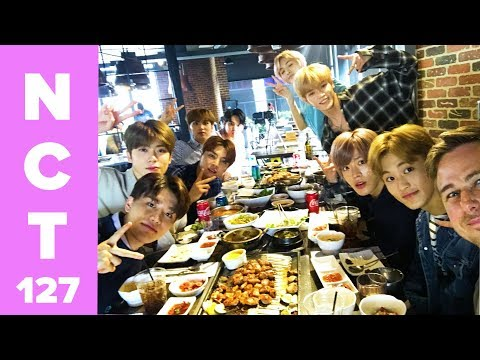 NCT 127 Tries Korean BBQ In LA's K-Town