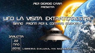 #UFO LA VISITA #ET, siamo pronti per il #contatto cosmico? - BARLETTA