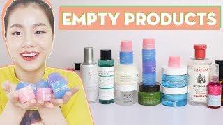Empty Products#1: Mỹ Phẩm Yêu Thích Đã Dùng Hết Sạch Sành Sanhhhh ♡ Quin