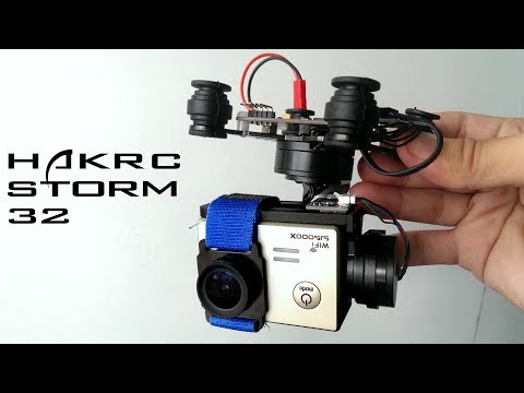 Hakrc storm 32 3 axis brushless gimbal - Best cheap gimbal
