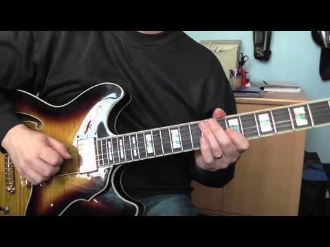Jazz Guitar Lick No 2 -  C Major