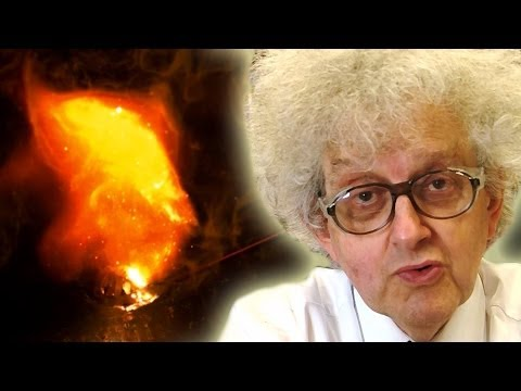 Burning Magnesium In Water - Periodic Table Of Videos