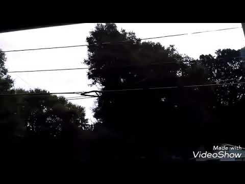 Hurricane Florence, Gastonia NC 12 hr time lapse.