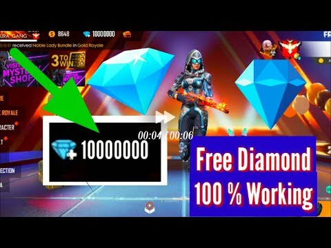 FreeFire Free Diamond 💎 // How to Get Free Diamond in Free Fire // New 100 % Working Trick