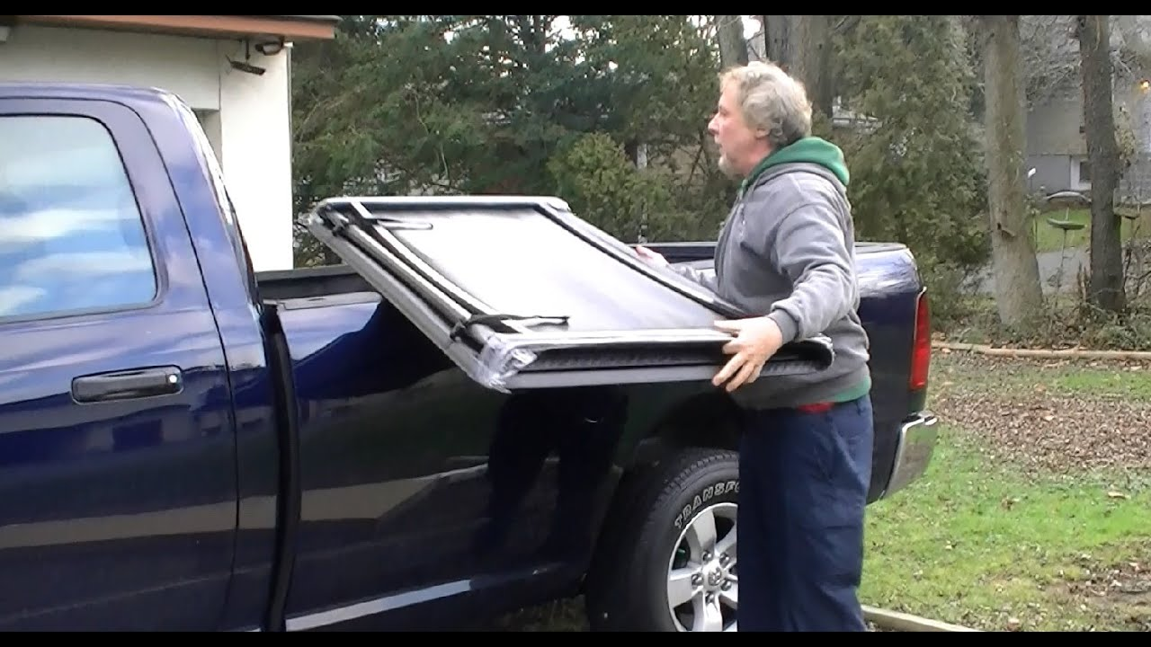 Installing A Tonneau Cover Ram 1500 Pick Up Truck Bed
