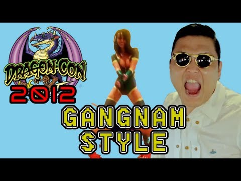 DRAGONCON 2012 - Gangnam Style Cosplay Music Video