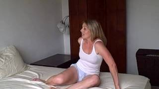Bride to be Quickie Workout in Bed w/ Laurel House