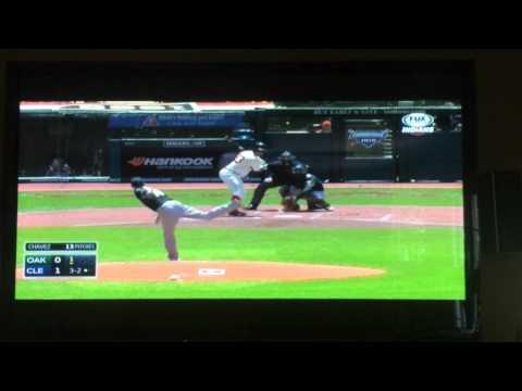 Oakland Athletics' Jesse Chavez Drops F-bomb on Television!