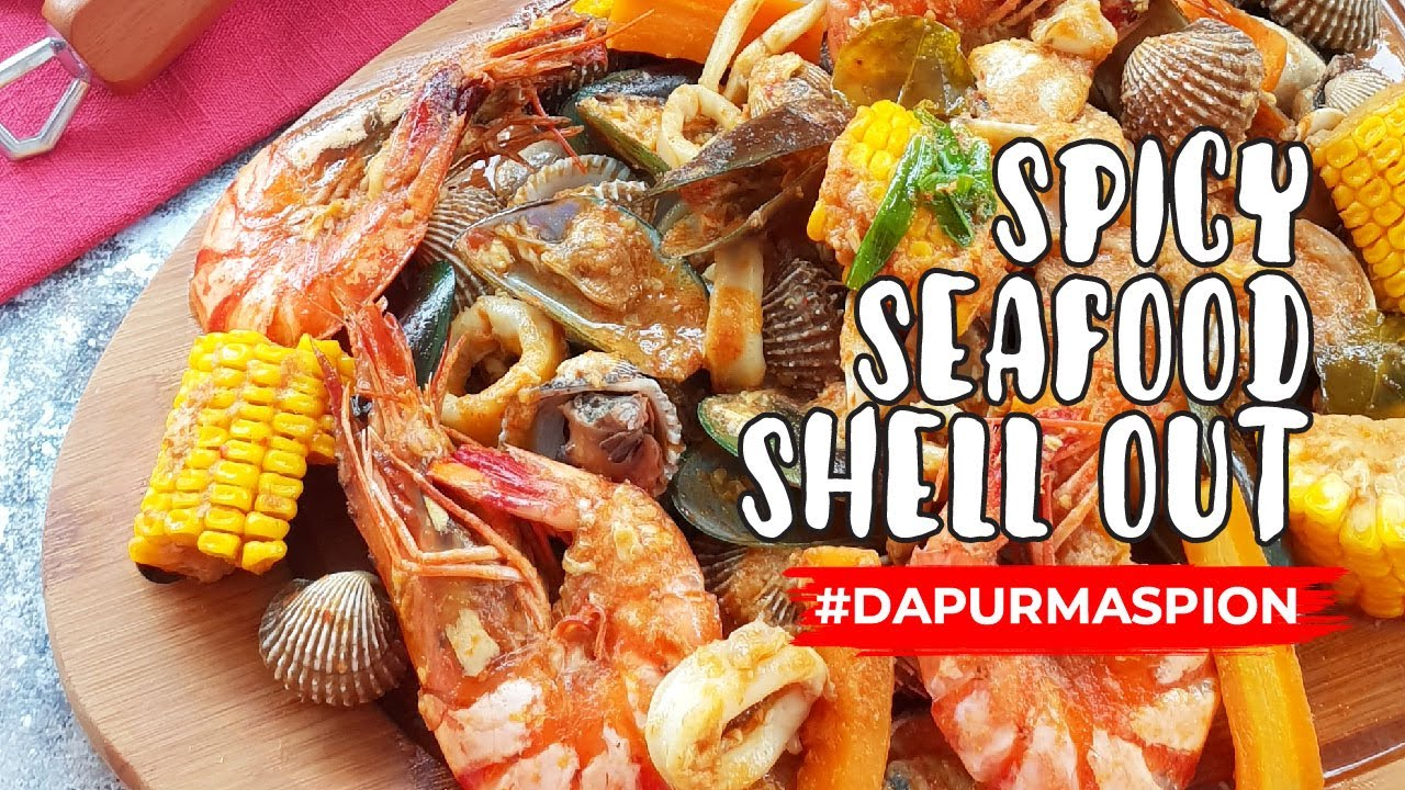 Resep Spicy Seafood Ala Shell Out Dengan Wajan Maspion Chows Wok Youtube