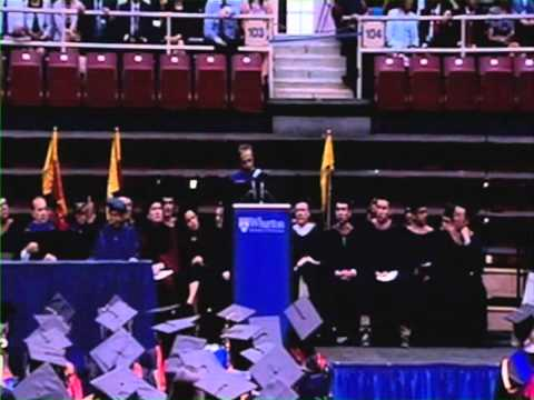 Citi: Vikram Pandit Speaks at the Wharton School Graduation Ceremony