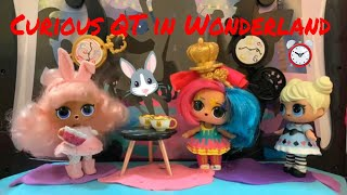 😺LOL Surprise! | Curious Q.T. in Wonderland | Stop Motion Video 🎭