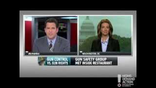 Moms Demand Action Founder Shannon Watts Discusses #GunBullies With Thomas Roberts (11/12/2013)