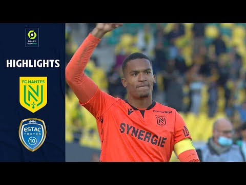 Nantes Troyes Goals And Highlights