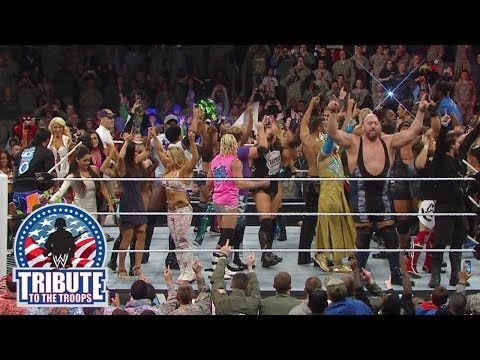 WWE Superstars & Divas thank the U.S. Military: Tribute to the Troops 2013 Travel Video