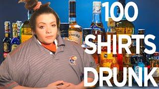 GETTING DRUNK & PUTTING ON 100 SHIRTS thumbnail