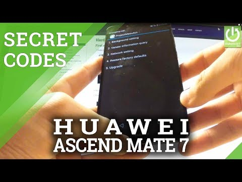HUAWEI Ascend Mate 7 SECRET CODES / TRICKS / HIDDEN MENU