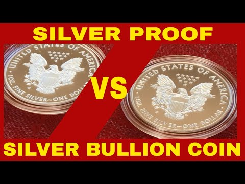 SILVER PROOF COIN VS A BULLION COIN! HOW NOT TO GET RIPPED OFF!