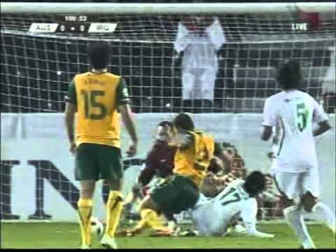 Iraq vs Australia 2011 AFC Asian Cup 1-22-2011